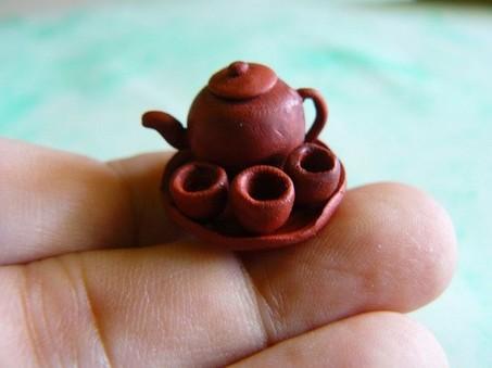Ấm trà nhỏ xinh