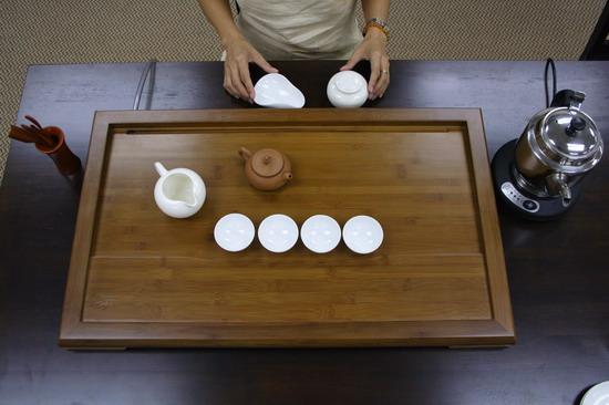 Cách pha trà Ô Long - Chuẩn bị dụng cụ pha trà