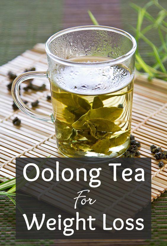 Uống trà ô Long để giảm cân