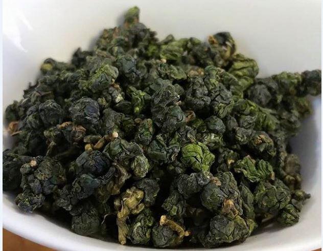 Hình dáng viên trà Ô Long