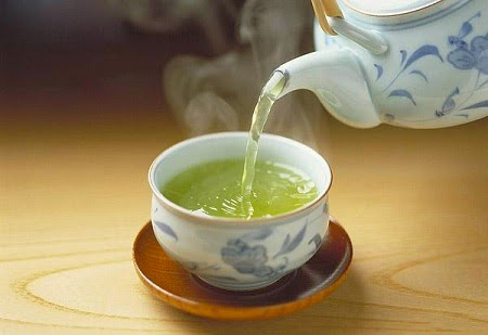 Uống trà có thể giảm cân