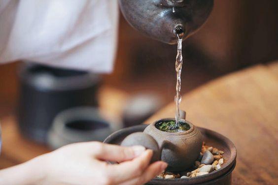nhiệt độ nước pha trà