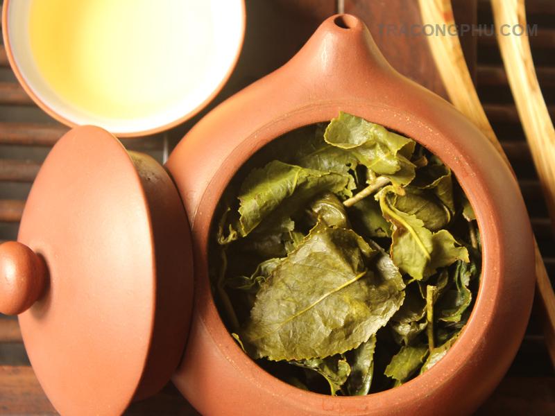 cách pha trà ô long